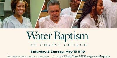 Christ Church Water Baptism (West 9:00 am)