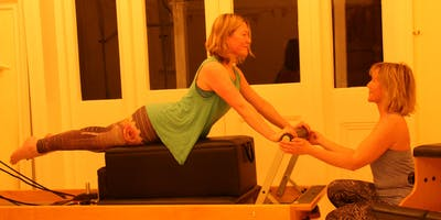 Private Pilates session 1-1 for back care, rehab or sports training