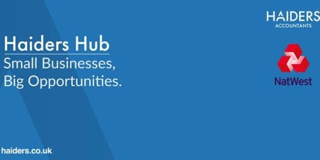 Haiders & NatWest Monthly Networking Hub #NatWest #Boost tickets