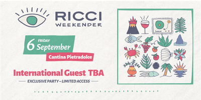 RICCI WEEKENDER /// INTERNATIONAL GUEST TBA dj set