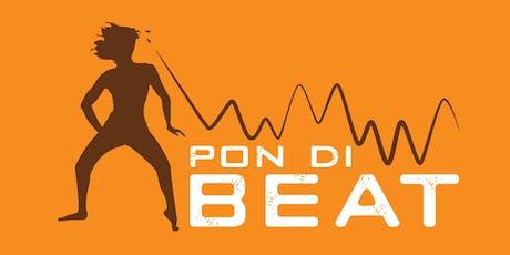 PON DI BEAT: AFRIROCK. LYD ROCK ALL LEVELS AFROBEAT DANCE MASTERCLASS tickets