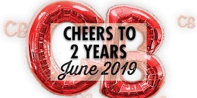 Cyclebar 2 Year Anniversary Free Rides!