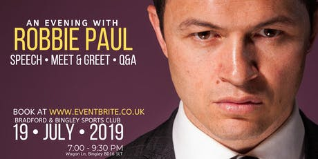 An Evening with Robbie Paul tickets