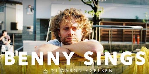 BENNY SINGS live @ Popscene!