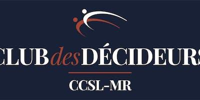 Club des décideurs - rencontre du 6 mai 2019