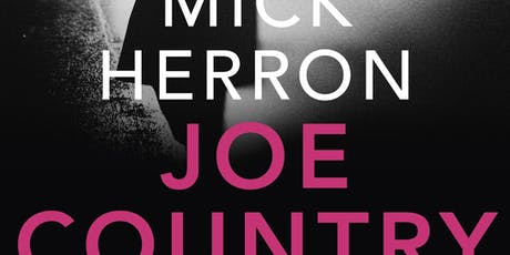Mick Herron: Joe Country  tickets
