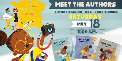 "Meet the Authors - ""The Amazing Adventures of Aya & Pete"" Children's Book Reading"