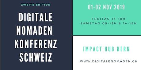 Digitale Nomaden Konferenz Schweiz 2019 Tickets