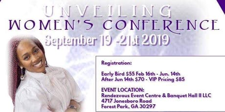 Unveiling Women's Conference tickets