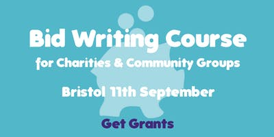 Bid Writing for Charities & Community Groups Course