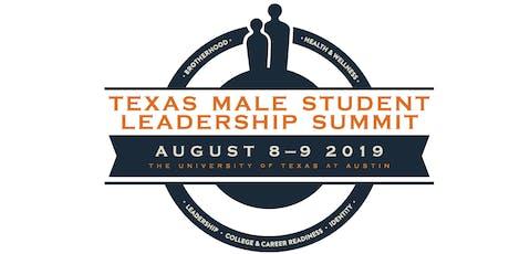 Texas Male Student Leadership Summit 2019 tickets