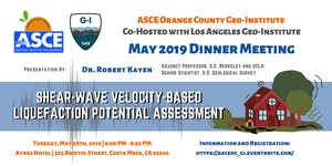 ASCE OC & LA Geo-Institute: Shear Wave Velocity...