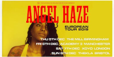 Angel Haze (Thekla, Bristol)