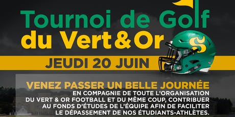 Tournoi de golf Vert et Or football 2019  tickets