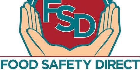 Serve Safe Food Manager Certification tickets
