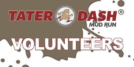 Tater Dash Mud Run Volunteers - 2019 tickets