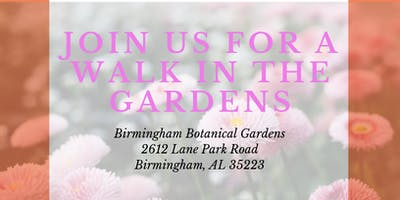 A Walk in the Gardens for Young Breast Cancer Survivors and their Loved Ones