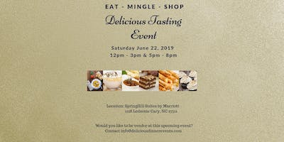 Indoor Event -  Calling all Food vendors - Vendor Space is limited - Delicious Tasting Event - June 22, 2019