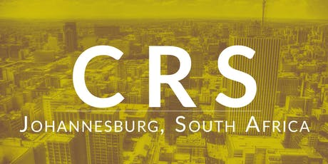 CRS Johannesburg tickets