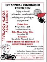 1st Annual Fundraiser Poker Run