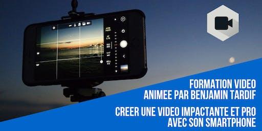 Créer une vidéo pro & impactante avec son smartphone les 10/09 et 03/10 à Angers