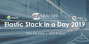 Elastic Stack In A Day 2019 - MILANO, Hotel...