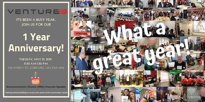 Venture13 1 Year Anniversary