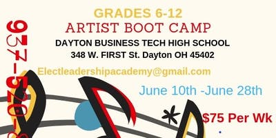 Saving Our Sons Artist Bootcamp