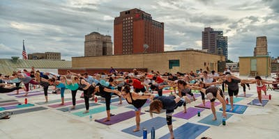 2nd Annual Rooftop Summer Solstice Yoga & LIVE Sound Celebration