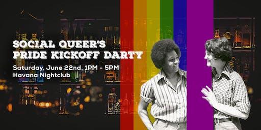 Social Queer's Pride Kickoff Darty