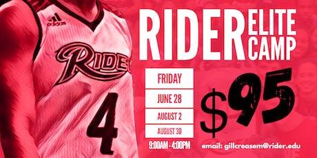 Rider WBB Elite Camp tickets