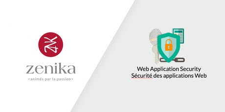 Sécurité d'applications Web - 1jour - FR tickets