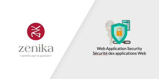 Sécurité d'applications Web - 1jour - FR