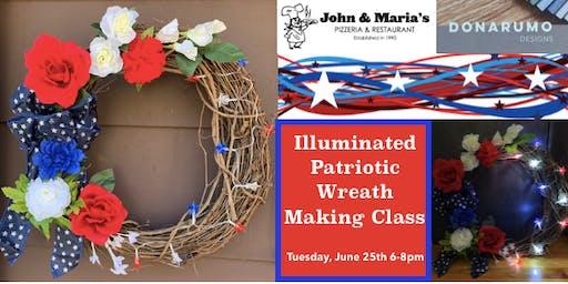 Illuminated Patriotic Wreath Making Class