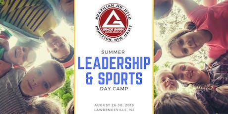 Gracie Barra SUMMER LEADERSHIP & SPORTS Day Camp tickets