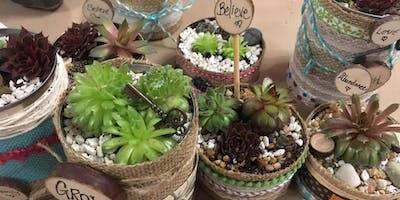 Succulents & Gardening with Oils Workshop