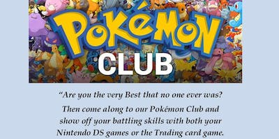 Pokemon Club @ The Hills!