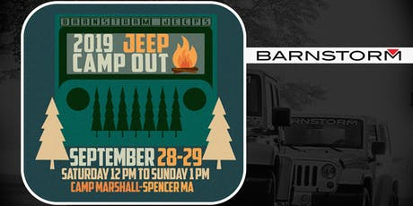Barnstorm Jeeps 2nd Annual Jeep Camp out tickets