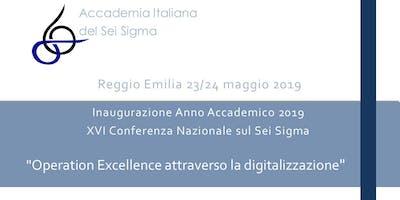 """Conferenza AISS 2019 """"Operation Excellence attraverso la digitalizzazione"""""""