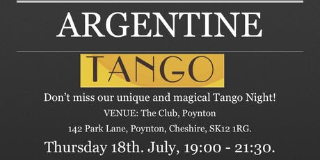 ARGENTINE TANGO: INTO THE SOUL tickets