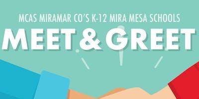 MCAS Miramar TK-12 Meet & Greet for Mira Mesa Neighborhood Schools
