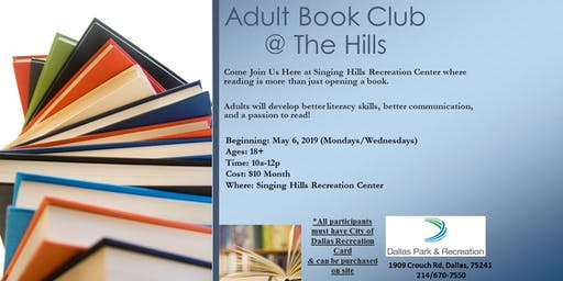 Adult Book Club @ the Hills!