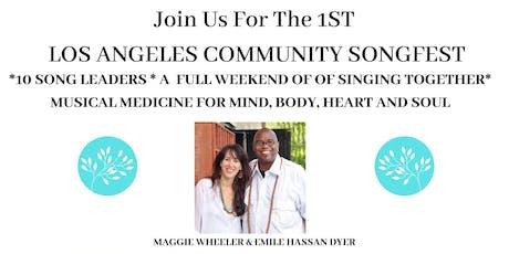 LA Community Songfest tickets