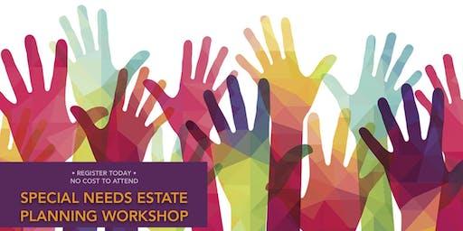 2019 Greater Cincinnati Special Needs Estate Planning Workshop