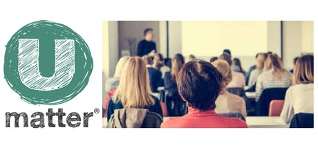Umatter for Schools:   Youth Suicide Prevention Training for School Professionals tickets