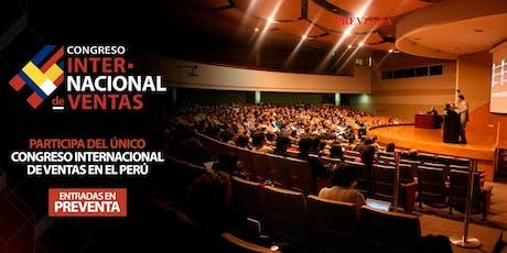 PRIMER CONGRESO INTERNACIONAL  DE VENTAS ( Desde 150 USD ) entradas