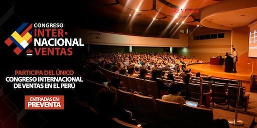 PRIMER CONGRESO INTERNACIONAL  DE VENTAS ( Desde 150 USD )