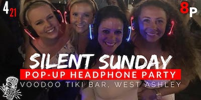 Silent Sunday Headphone Party at Voodoo