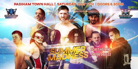 LIVE Wrestling in Padiham - Summer Madness tickets