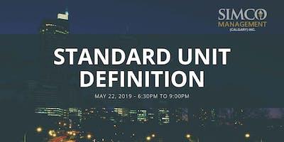 Standard Unit Definition